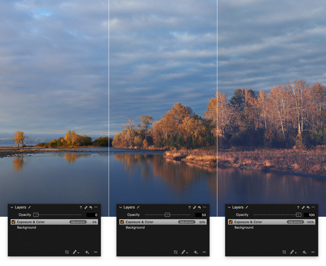 Capture One Ebenen Deckkraft Ebenen Voreinstellungen