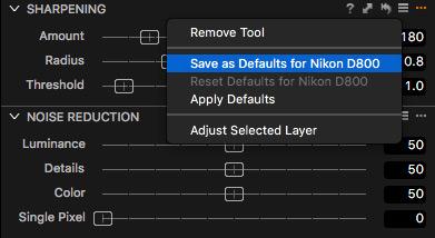 Capture One Erstelle eine eigene Benutzer-Vorgabe mit allen wichtigen Werkzeugen